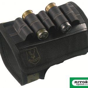 Riserva etui za sačmeno streljivo za kundak R1416 crni