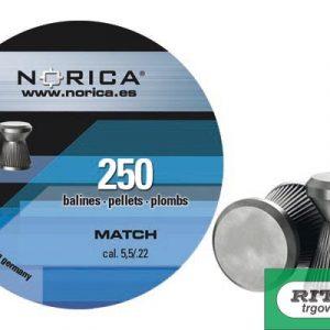Diabole Norica MATCH 5,5mm 250 kom